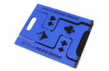 Magician Table - Folding (Aluminum, Large, Blue)