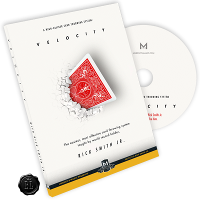 Velocity: High-Caliber Card Throwing System by Rick Smith Jr. - DVD