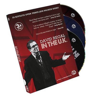 David Regal In The UK (3 DVD Set) by David Regal