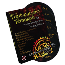 The Transparency Template by Jonathan Royale - DVD