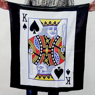 Bag to Poker Streamer (Spade K)