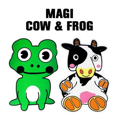 Magi Cow and Frog by Fujiwara
