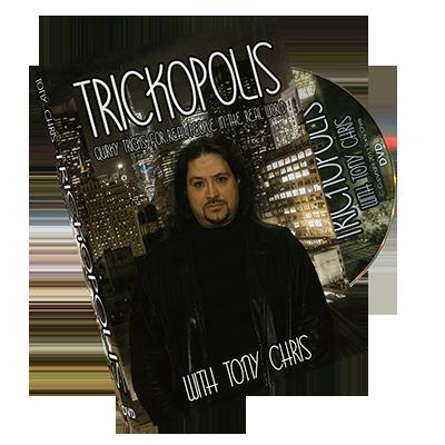 TRICKOPOLIS by Tony Chris - DVD