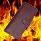 Supreme Fire Wallet by 52magic (Black/Brown)