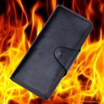 Supreme Fire Wallet by 52magic (Black/Brown)