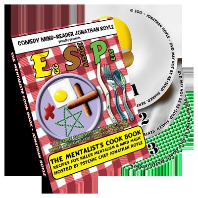 E.S.P. (Eggs, Sausage & Peas) 3 Disc Set by Jonathan Royale - DVD