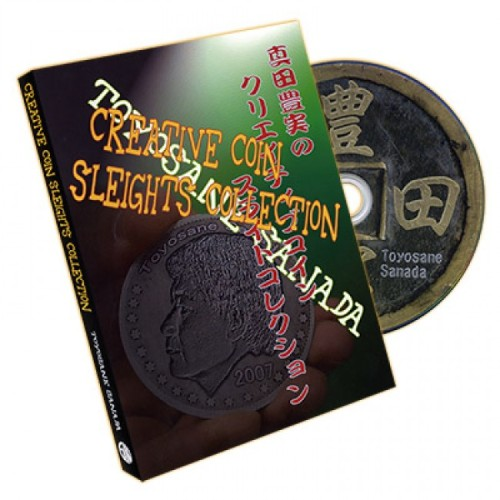 Creative Coin Sleights Collection by Sanada - DVD