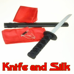 Knife and Silk