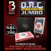 O.R.C. (Optimum Rising Card) Jumbo by Taiwan Ben - Blue/Red