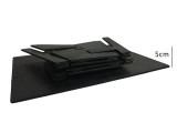 Folding Table - Card Desktop (Light Birch Plywood, Black)