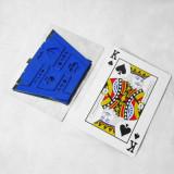 Folding Table - Card Desktop (Aluminium, Gold/Blue)