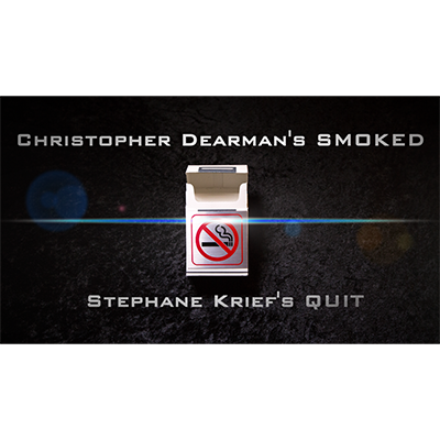 * Smoked 2.0 (Gimmick, DVD & Book) by Christopher Dearman (With BONUS/Quit by Stephane Krief)