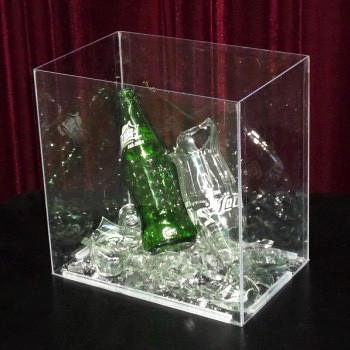 Plexiglas Isolation Chamber for Self Explosion Bottle