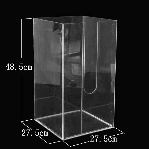 Plexiglas Isolation Chamber for Self Explosion Glass - Large