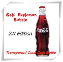 Self Explosion Bottle 2.0 - Transparent Coca Cola Bottle