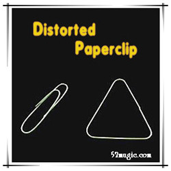 Distorted Paperclip by 52magic
