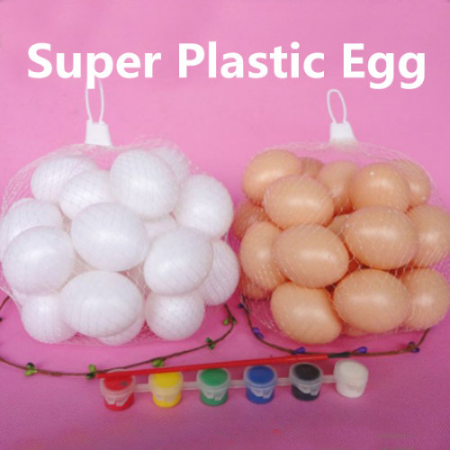 Super Plastic Egg (Hollow, 20 Pieces)