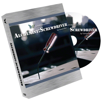 Alchemist: Screw Driver (2 Gimmicks and DVD) - Trick