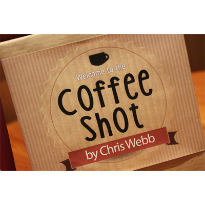 * Coffee Shot (Gimmicks & DVD) by Chris Webb