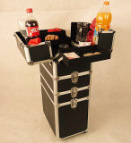 * Professional Magic Trolley Case and Table