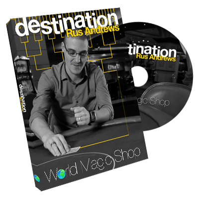 Destination (DVD and Gimmick) by Rus Andrews