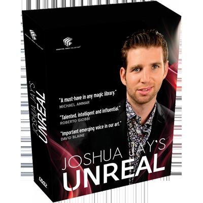 Unreal by Joshua Jay and Luis De Matos - DVD