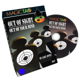 Out of Sight Out Of Your Mind (DVD and Gimmick) by Gary Jones and Magic Tao
