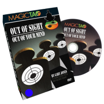 * Out of Sight Out Of Your Mind (DVD and Gimmick) by Gary Jones and Magic Tao