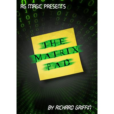 * The Matrix Pad (DVD & Gimmicks) by Richard Griffin