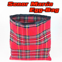 Senor Mardo Egg Bag (Red/Blue)
