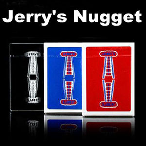 Jerry's Nugget Playing Cards - Red/Blue