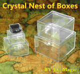 Crystal Nest of Boxes by J.C Magic