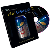 Pop Change (DVD and Gimmick) by Julio Montoro and SansMinds