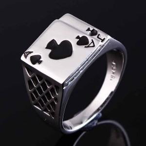 Magician's Ring (A&J of Spades)