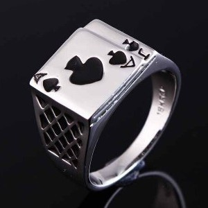 Magician's Ring (A&J of Spades)