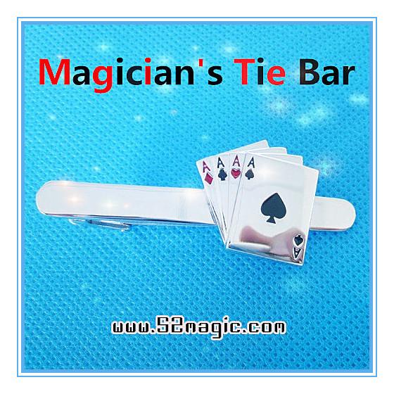 Magician's Tie Bar (4 Ace)