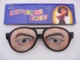 1 Pair Male Joke Funny Glasses