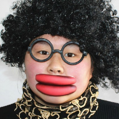 Funny Sausage Lips