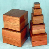 Nest of Boxes - Wooden