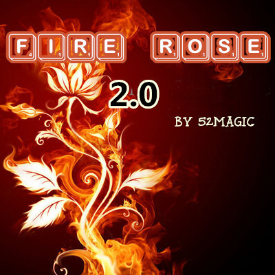 The Fire Rose 2.0 by 52magic