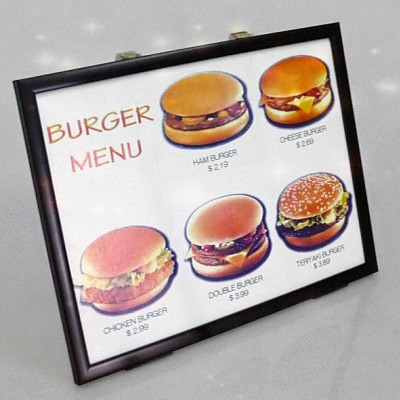 4D Burger Board