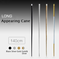 Appearing Long Cane - Metal (1.4m-1.5m, 4 Colors)