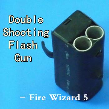 Double Shooting Flash Gun (Fire Wizard 5)