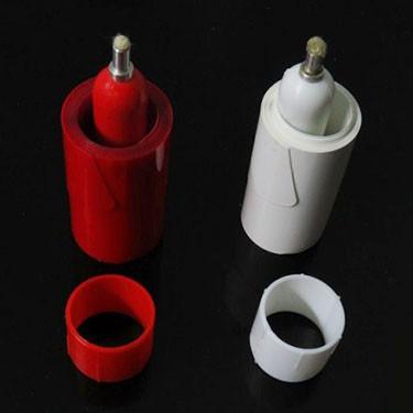 Vanishing Candle - Red/White
