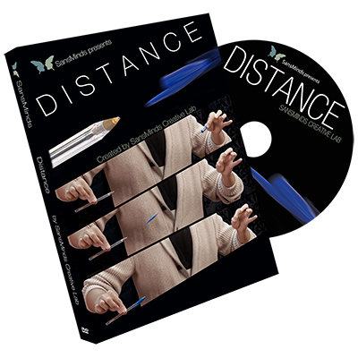 Distance (DVD and Gimmicks) by SansMinds Creative Lab