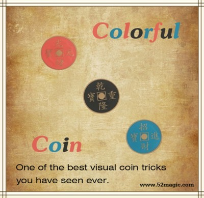 Colorful Coin - Half Dollar Edition (With DVD)
