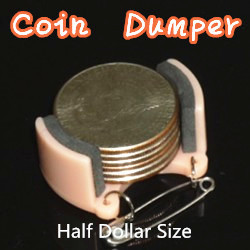 Coin Dumper - Metals (Half Dollar Size)