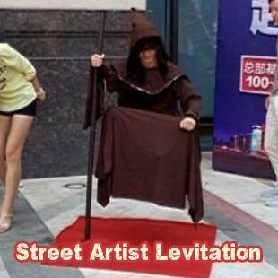 * Street Artist Levitation