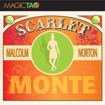 Scarlet Monte (Gimmick and Online Instructions) by Malcolm Norton