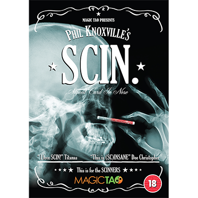 SCIN (DVD and Gimmick) by Phil Knoxville
